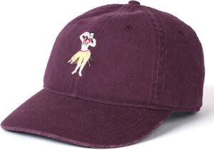 Neff Tropical Dad Cap Mens One Size Maroon