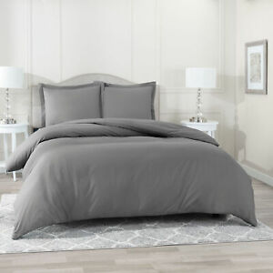 Egyptian Comfort 3 PC Duvet Cover Set 1800 Count Ultra Soft Cover for Comforter $25.99