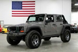2014 Wrangler Unlimited 2014 Jeep Wrangler Unlimited 59830 Miles Gray Station Wagon Supercharged 3.6L V-