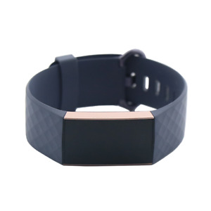 Fitbit Charge 3 Activity Tracker + Heart Rate - Rose GoldBlue Grey FB409SBNDL