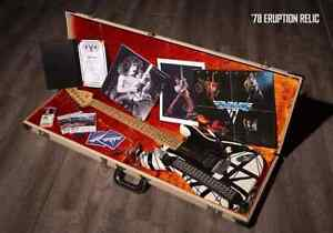 2018 EVH '78 Eruption Relic 1 of 30 Units Brand New Case Candy Ships Worldwide