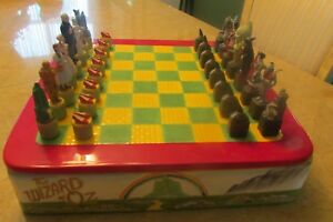 WOW !!  SO RARE ! Wizard Of Oz Chess Set Cookie Jar by Star Jars ONLY 30 MADE !