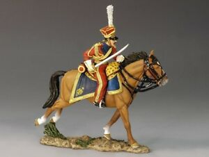 King & Country Collectible Soldier NA167 Age Of Napoleon Charging Lancer Officer