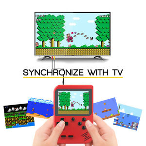 Portable 2.8'' TFT Display Handheld Game Console 168 Classic Games + Li-Battery