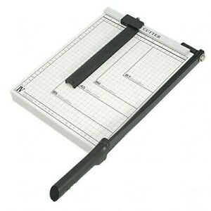 PAPER CUTTER 10 x 10 inch METAL BASE TRIMMERGuillotine Type $19.99