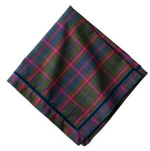 Juliska chalet tartan napkins set of 10