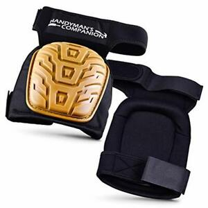 Heavy Duty Knee Pads (1 Pair) Flooring Construction Gardening Roof Foam Cushion