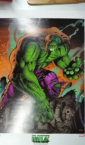 incredible hulk lithograph by randy queen $9.99