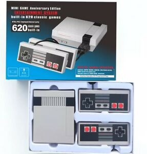 Mini TV Video Games Consoles Built-in 620 Classic Games For Nes PAL