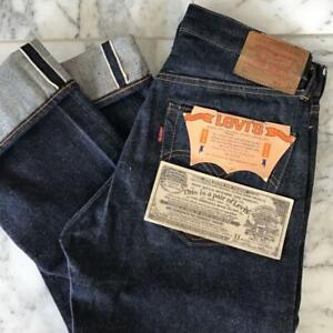 LEVI'S 501 A type Big E 60' Vintage Jeans Dead Stock Size W30 Rare From JAPAN