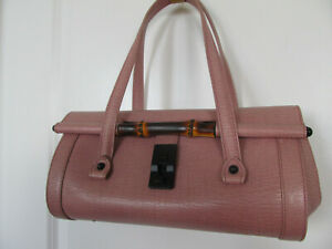 Gucci Bamboo Bullet Dusty Pink Double-handled Handbag in GREAT condition