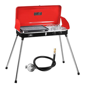 JIMI Portable Grill for Outdoor Grilling and Camping Portable Gas Grill with