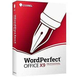 COREL WORDPERFECT OFFICE X9 PROFESSIONAL PRO PROFESSIONNELLE FULL VERSION