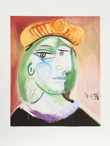 Pablo Picasso Marie Therese Walter Lithograph