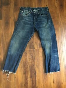 Levis 501 Big E Jeans Reproduction Made In Turkey Red Line