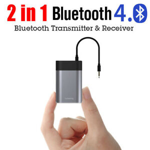 2in1 Wireless Bluetooth Transmitter& Receiver A2DP Home TV Stereo Audio Adapter