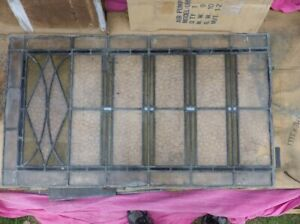 Antique Stained Glass Lead Windows over 6 square meters for Restoration