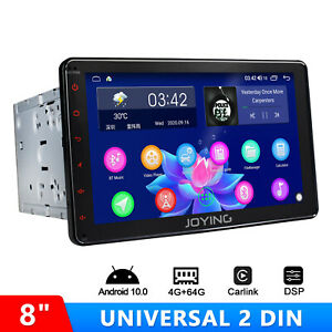 8 Inch Universal Double 2 Din Android 8.1 Bluetooth with 4G Module DSP PIP GPS