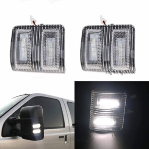 Clear Lens Side Mirror LED Signal Marker Light for Ford F250 F350 F450Super Duty $19.99