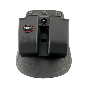 Fobus Double Mag Pouch 9Mm 357 40 With Tension Adjustment Screws.