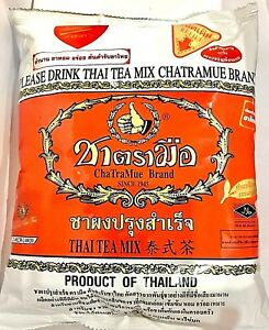 Chatramue Number one brand original Thai Tea Mix refill 400 g.