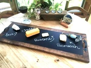 Chalkboard Party  Serving Tray Handcrafted! Party Decor!