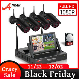 ANRAN Wireless Security Camera System 1080P Outdoor 7