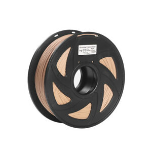 Wood PLA Printer Filament 1kg High-Quality Material Non-Toxic Eco-Friendly S7A8