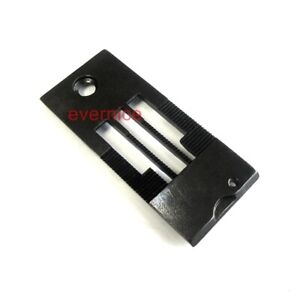 Needle Plate Throat Plate For Juki Lh 3182 3168 3162 3128 Double Needle Machine $6.71