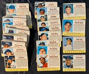 1963 Post Cereal baseball lot (70) cards Fair - no dupes - supers