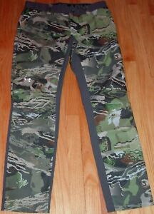 UNDER ARMOUR STORM WATER RESISTANT FITTED FOREST CAMO PANTS WOMEN'S 6, 8, 10 $49.99