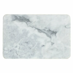 Home Basics Home Basics Multi-Purpose Pastry Marble Cutting Board White