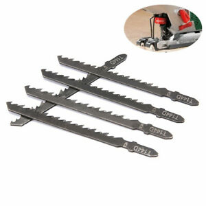 5Pcs Jig Saw Blades Wood Fast Cutting 100mm Reciprocating Saw Blade T144D