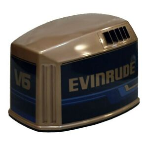 Evinrude Brp  Omc 150 V6 Fiberglass Outboard Boat Motor  Engine Top Cowling