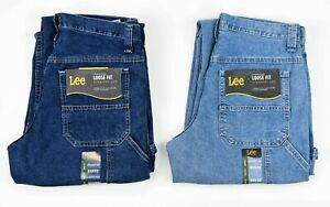 New Lee CARPENTER JEANS Men's Dark and Light Stone Colors Available