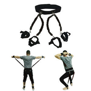 200lbs Resistance Bands Boxing Endurance Agility Pull Rope Crossfit Rubber Band