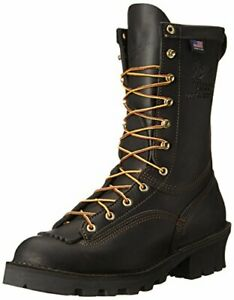 Danner Men's Flashpoint II 10 Inch All Leather Work Boot Color BLACK