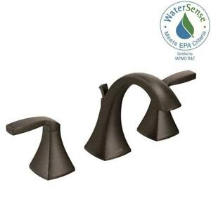 MOEN T6905ORB Voss Widespread Bathroom Faucet Trim Kit in Oil Rubbed Bronze NBW