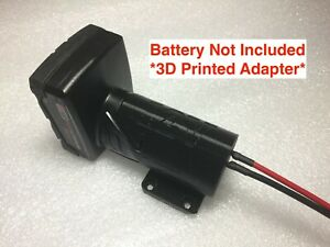 L Battery adapter for Milwaukee 12V M12 dock power connector 12 gauge robotic