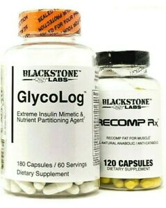 Blackstone Labs SUPPORT STACK Recomp RX + Glycolog Build Muscle