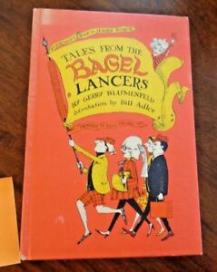 1st Edition Tales from the Bagel Lancers Everyman's Book of Jewish Humor 1967
