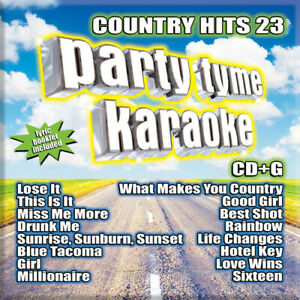 Party Time Karaoke - Country Hits 23 [New CD]