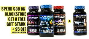 Blackstone Labs Trifecta Muscle Stack DHEA AbNORmal BRUTAL4CE CHOSEN1 + FREE PCT