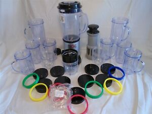 Magic Bullet Juicer Processor System With Extras!!