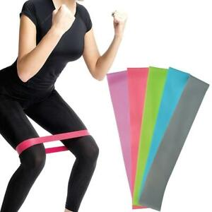 Resistance Mini Band Stretch Tube Loop Gym Exercise Fitness Workout Yoga Trainin