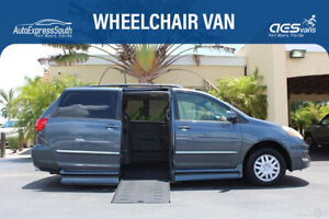 2006 Toyota Sienna XLE Limited Wheelchair Accessible Van Power Side Entry 2006 TOYOTA SIENNA XLE WHEELCHAIR MOBILITY VAN LEATHER NAVIGATION SUNROOF