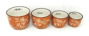 Temp tations Measuring Cups Nesting Cup Floral Lace K41206