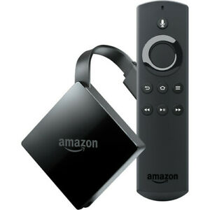 Amazon Fire TV with 4K Ultra HD and Alexa Voice Remote - Black