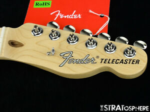 2019 Fender American Performer Telecaster NECK & TUNERS USA Tele Modern C Maple