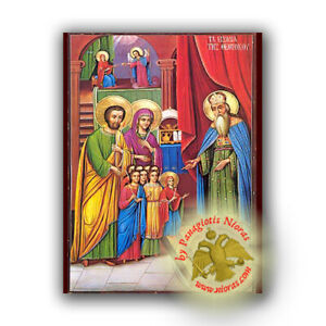 Orthodox Neoclassical Icon Replicas Different Themes Greek Orthodoxe Ikone Eikon